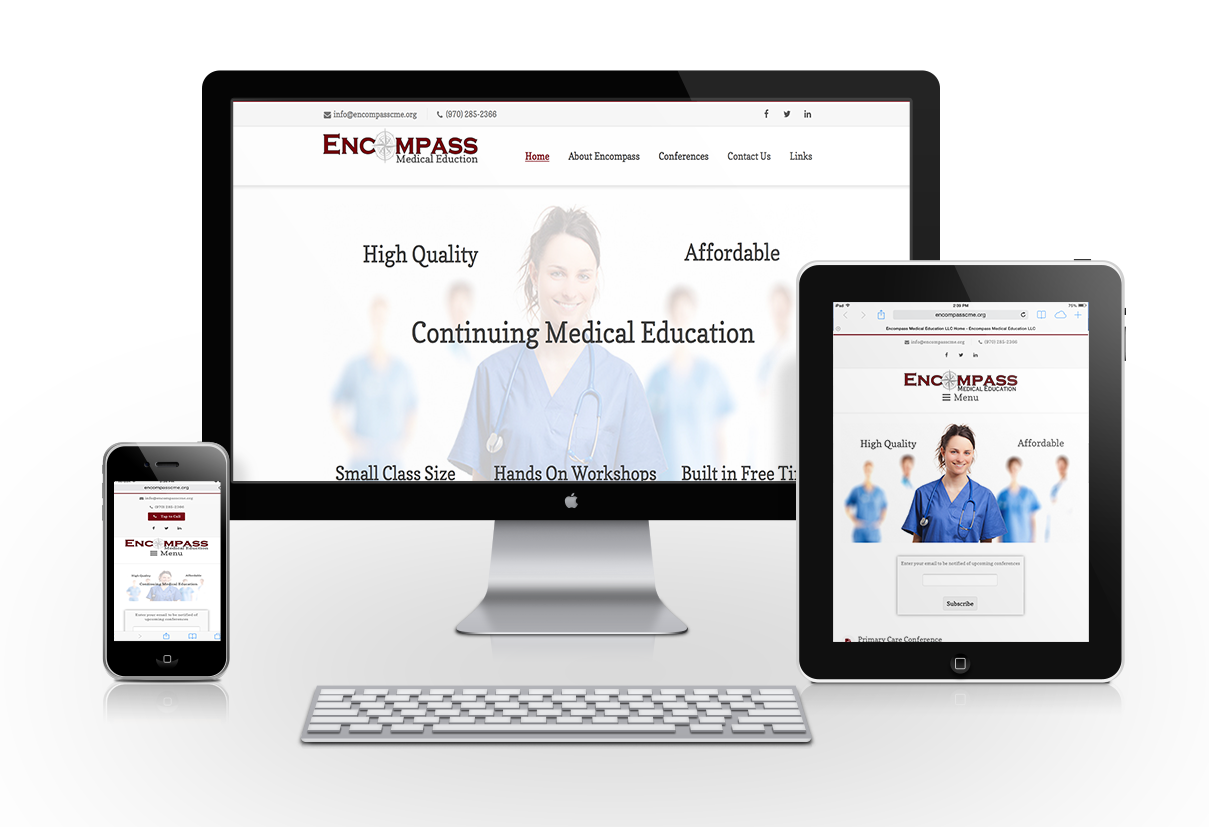 Encompass Medical Education Website