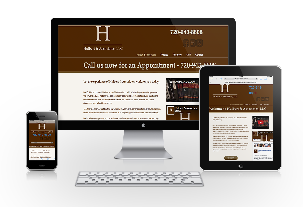 Hulbert & Associates Web Design